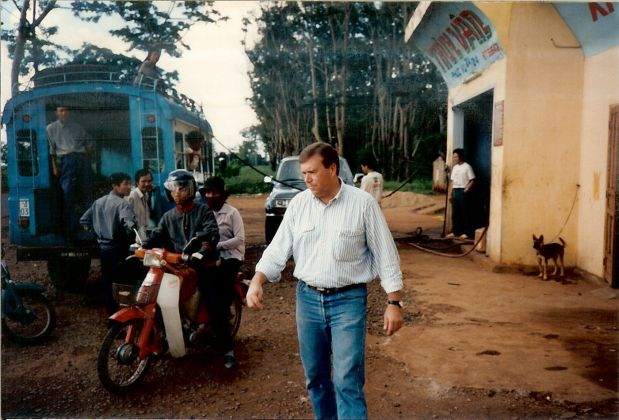 Along Cambodian Border Viet Nam Oct 1994