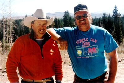 Jim and Bill Elk Hunt Nov 1999